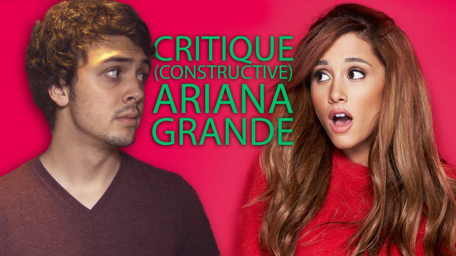 Critique constructive – Ariana Grande – INTHEFAME