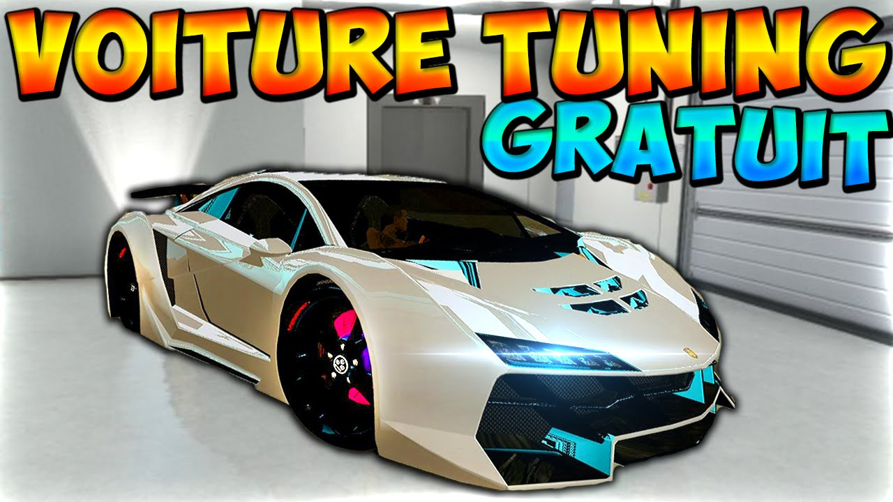 tuto avoir des voitures tuning gratuitement sur gta 5 ps4 xbox one inthefame. Black Bedroom Furniture Sets. Home Design Ideas
