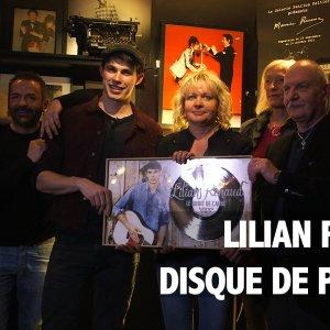 Lilian Renaud : son premier disque de platine !