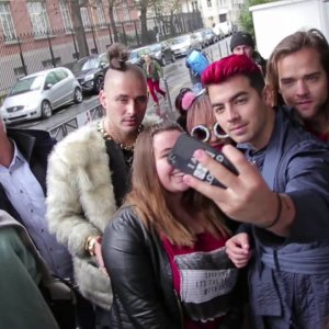 DNCE in Paris for a crazy day !