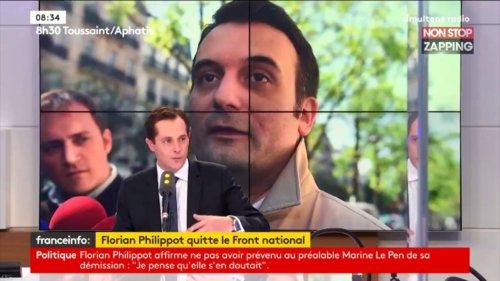 Zap politique : pour Marine Le Pen, Florian Philippot est mort politiquement (vidéo)