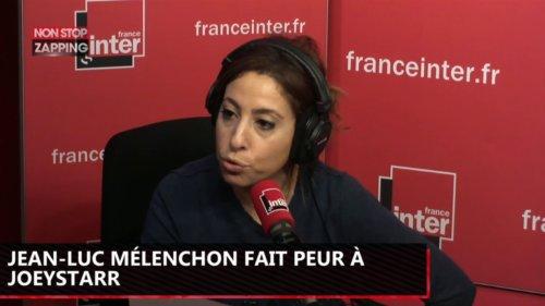 Jean-Luc Mélenchon fait peur à JoeyStarr, il le tacle (Vidéo)