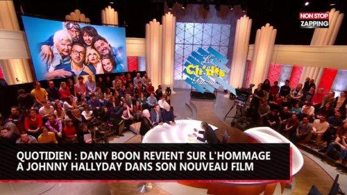 Quotidien : Dany Boon revient sur l'hommage à Johnny Hallyday dans son nouveau film (vidéo)