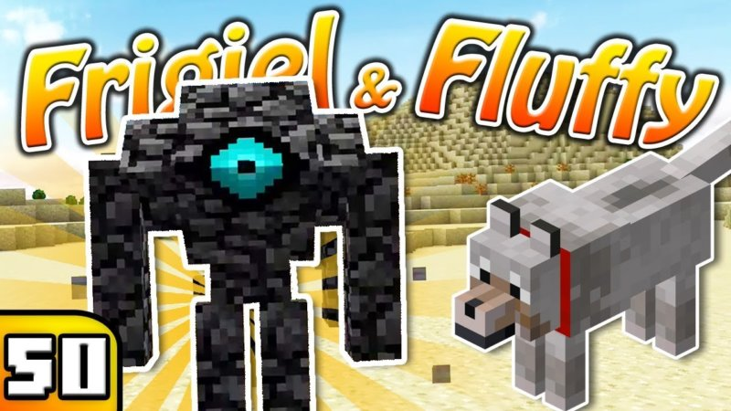 Frigiel & Fluffy : Chasse Aux Boss ! | Minecraft – S5 Ep ...