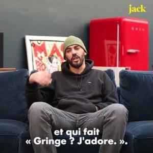 """Gringe : l'interview """"première fois""""   JACK"""