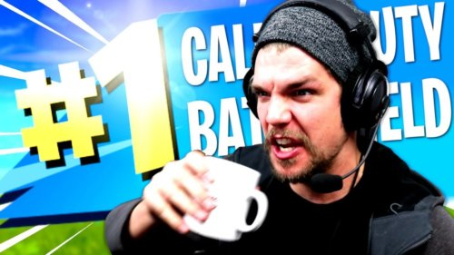 LE CAFÉ DU DOUBLE TOP 1 !! (Call of Duty VS Battlefield – Battle Royale)