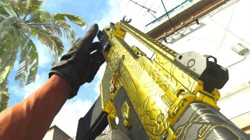 La G36c En Or Sur Call Of Duty: Modern Warfare ! (nouvelle Arme)
