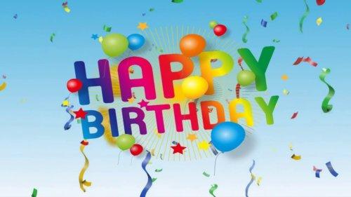 Joyeux Birthday Um