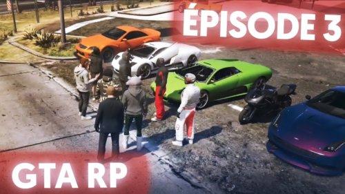 GTA V RP : Course de rue 🏎️🚓 | Ep. 3