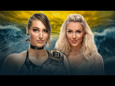WWE Wrestlemania 36 – Rhea Ripley vs Charlotte Flair