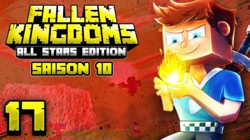 Fallen Kingdoms 10 – All Stars Edition : L'attaque Du Wither & 2 Teams ÉliminÉes ! #17