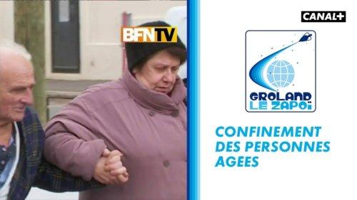 Brankin news : confinement des personnes âgées – Groland – CANAL+