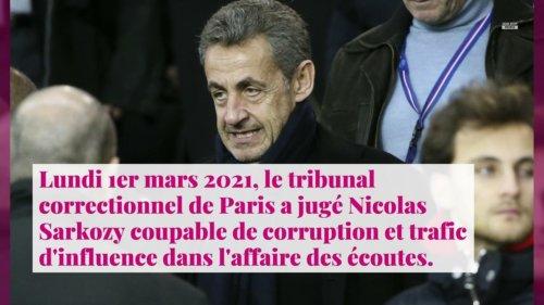 Nicolas Sarkozy condamné dans l'affaire des écoutes : il dénonce une injustice